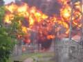 В сети появилось видео мощного взрыва на подстанции в Томске