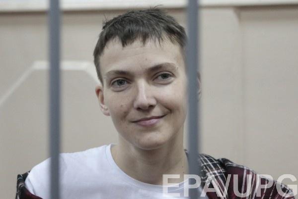 Савченко в зале суда