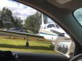 В США самолет сел на трассу