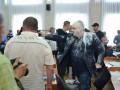 Появилось видео стрельбы в Никопольском горсовете