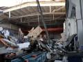 Обрушение крыши завода попало на видео