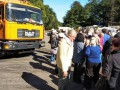 Пенсионеры с титушками блокируют мусорный полигон под Киевом - СМИ