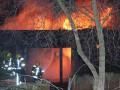 В Лондоне горит зоопарк