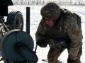 Учения артиллерии под Луганском показали на фото