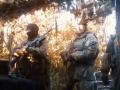 Украинские военные заставили боевиков слушать Гимн Украины