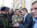 В Ивано-Франковске пикетировали управление МВД
