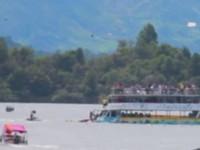В Колумбии утонул прогулочный корабль: на борту были 150 человек