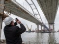 Оккупанты готовятся к запуску движения по Крымскому мосту