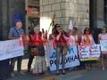 В Киеве устроили протест против 5G интернета
