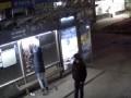 Жительницу Житомира задержали за попытку сорвать плакат с ветераном АТО