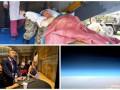 День в фото: раненые в Одессе, Кличко в США и редкое сияние над Землей