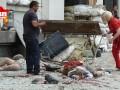 Фото и видео Луганска после взрыва: трупы, воронки и разрушения