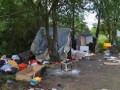 В Европе отреагировали на погром в лагере ромов