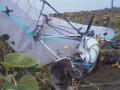 В Тернопольской области дельтаплан задел линию электропередач и упал, погиб пилот