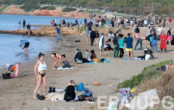 Аномальное тепло в Греции