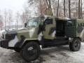 Под Киевом испытали новые украинские бронемашины КOZAK