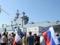 Во Франции прошла акция в поддержку поставок России Мистралей