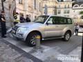 В Киеве пьяный парень угнал автомобиль иностранного посла