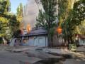В Днепре пожар уничтожил спортивно-оздоровительный комплекс