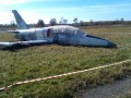 Под Хмельницким упал военный самолет
