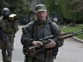 На митинге в Комсомольском боевики ранили троих местных - ГУР
