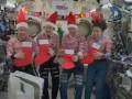 Астронавты на МКС поздравили мир с Рождеством