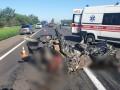 BМW разорвало на части: В ДТП под Запорожьем погибли четверо