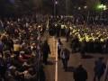 Остаемся на ночь: в центре Киева разбили 60 палаток