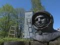 В Белграде власти демонтировали памятник Гагарину