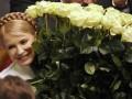 Реакция Тимошенко на первые данные экзит-поллов (фото, видео)