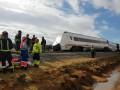 В Испании поезд сошел с рельсов, есть пострадавшие