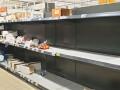 В Румынии опустошили магазины из-за коронавируса
