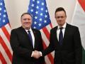 Помпео призвал Венгрию поддерживать Украину