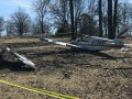 Легкомоторный самолет разбился в США