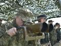 Порошенко посетил военные учения ВСУ
