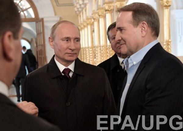 Медведчук уже не впервые публично выступает с позиций Кремля