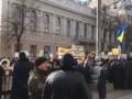 Работники ПТУ устроили митинг под Радой и требуют финансирования