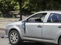 В Киеве автомобиль Geely MK сбил двоих пешеходов