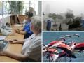 День в фото: Поликлиника без очередей, тайфун в Тайване и фламинго в Греции