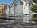 Акция оуновцев у дома Порошенко: на место приехали спасатели