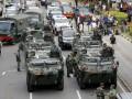 К месту терактов в Джакарте прибыла бронетехника