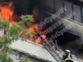 В Киеве во время пожара в высотке погибла женщина, - СМИ