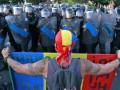 Число пострадавших в ходе протестов в Румынии превысило 440