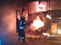 В Кривом Роге на ходу загорелся автобус, есть пострадавшие