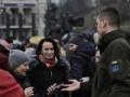 В центре Киева митингуют в поддержку подозреваемых по делу Шеремета