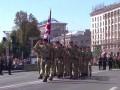 В параде участвовали военные из 18 стран