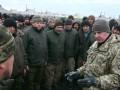 Муженко приехал посмотреть, как живут бойцы 53-й бригады