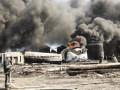 ГСЧС: На нефтебазе под Киевом взорвались цистерны, жертв и пострадавших нет