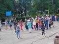 В Крыму детсадовцы делают зарядку под пропагандистские песни о России
