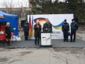 В Запорожье переселенцы получили гуманитарную помощь из Германии